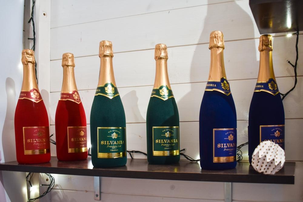 Șampania Silvania ediția premium.