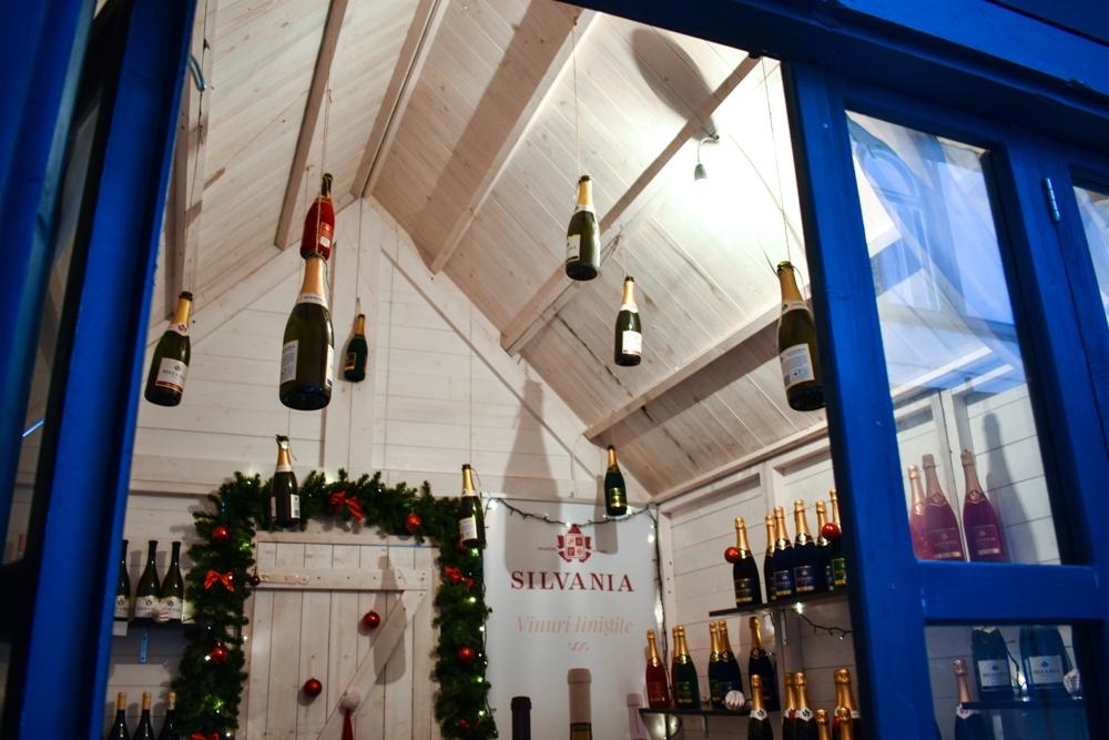 Standul cu vin de Silvania.